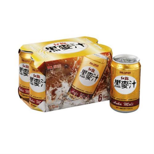 台酒 紅麴黑麥汁(330ml*6罐)