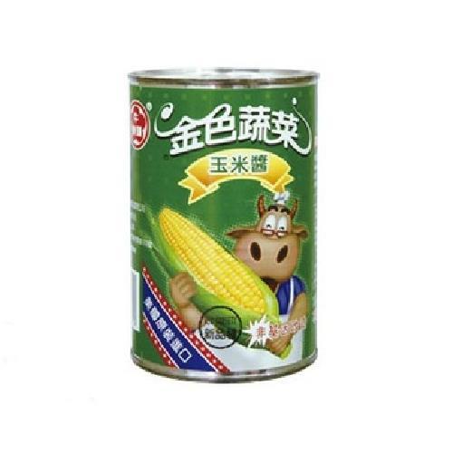 牛頭牌 玉米醬(418g*3罐/組)