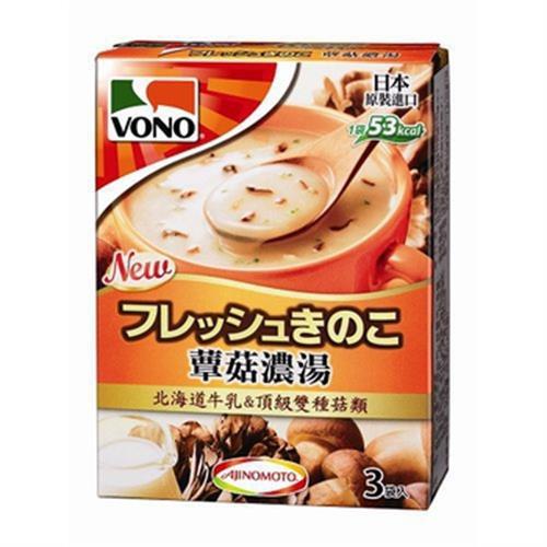 VONO Cup Soup 蕈菇濃湯(38.4g/盒)