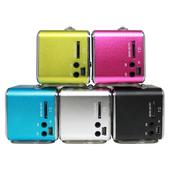 音樂響叮噹108 USB插卡式MP3音響喇叭(藍)