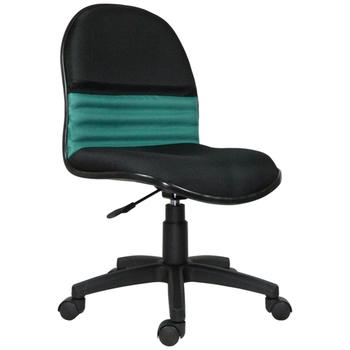 《時尚屋》艾莉森中背辦公椅(綠色)