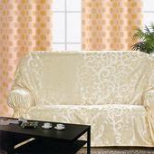 《布安於室》蔓澤DIY2人座沙發罩-米