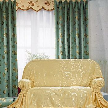 《布安於室》雅典DIY2人座沙發罩-駝黃