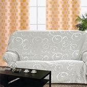 《布安於室》雅典DIY3人座沙發罩-銀灰