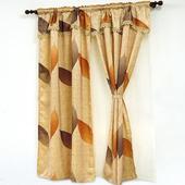 《布安於室》雙葉印花雙層窗簾