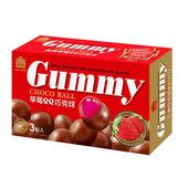《義美》草莓QQ巧克球量販盒(135g/盒)