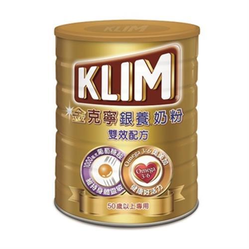 金克寧 銀養奶粉-雙效配方(750g/罐)