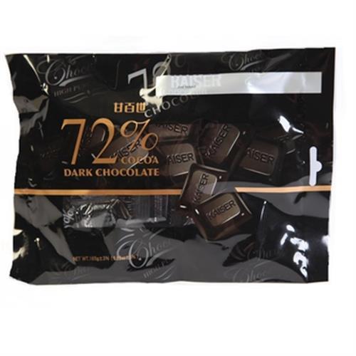 甘百世 72%黑巧克力(165g/包)