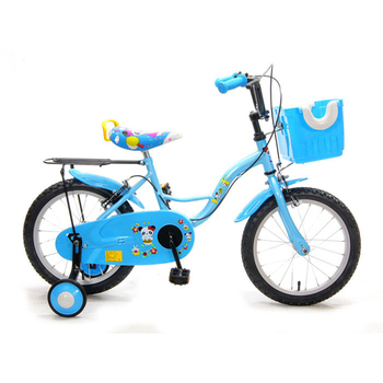 《FUSIN》KB-03 16吋可愛輔助輪童車/腳踏車(天空藍)