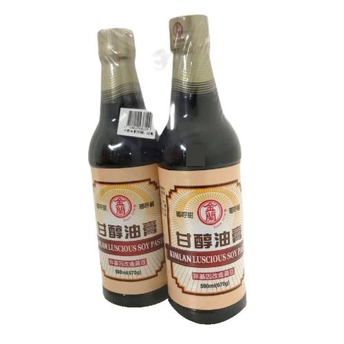 金蘭 甘醇油膏(590ml*2瓶/組)