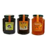 《朝日農業》手工果醬茶 暖冬6入組(桂圓紅棗茶*2+薑母茶*2+頂級柚子茶*2)