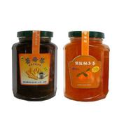 《朝日農業》手工果醬茶 暖冬4入組(薑母茶*2+頂級柚子茶*2)