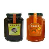 《朝日農業》手工果醬茶 暖冬4入組(頂級柚子茶*2+桂圓紅棗茶*2)