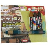 日本Nikken木製品簡易補修組-深色組3支(色)+小補色筆2色
