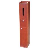 《Asllie》方型置物櫃(咖啡色)