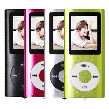 超薄4代炫彩1.8吋 MP3插卡式蘋果機(黑FS1008-18-001)