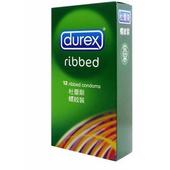《杜蕾斯Durex》螺紋裝衛生套12入/盒 $218