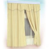 《布安於室》格致雙層緹花窗簾