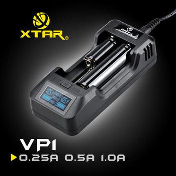 《台灣愛克斯達》VP1專業級三檔可調高精度LCD顯示鋰離子充電器