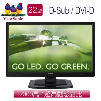 ViewSonic優派 VA2249S 22型AH-IPS寬螢幕