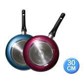 《清水》金家福不沾鍋30CM(電磁爐適用)(CZ-0987)