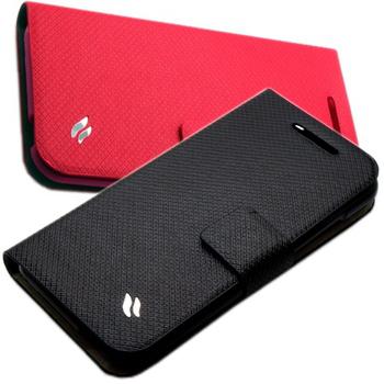 Redberry HTC Desire 601 甜漾簡約 立架式皮套(時尚黑)
