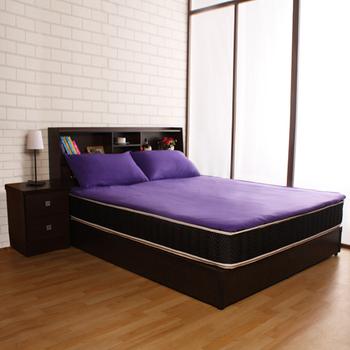 Homebeauty 暖洋洋多彩雙面機能保暖保潔墊-雙人(神秘紫)