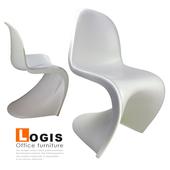 《LOGIS》斯加麗休閒吧台椅(黑)