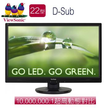 ViewSonic優派 VA2246a 22型LED寬螢幕