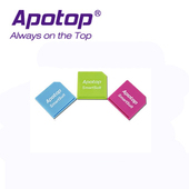 《APOTOP》SmartSuit 隨行轉卡(一組內含三個轉卡)