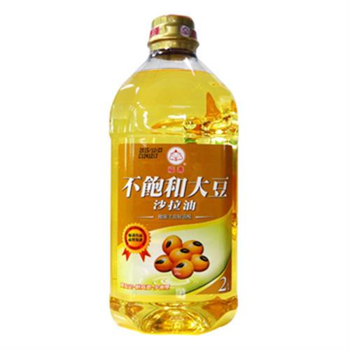 福壽 不飽和大豆沙拉油(2L/瓶)