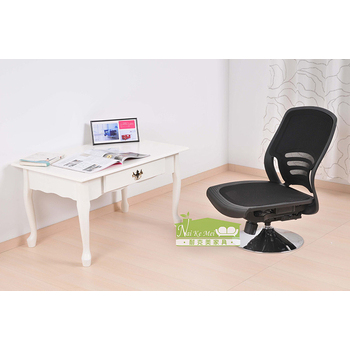★結帳現折★《NaiKeMei-耐克美-》艾默爾全網式和室旋轉椅(黑色)