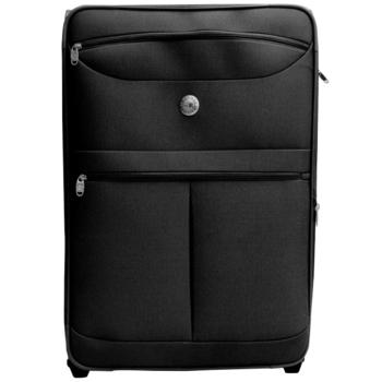 RAIN DEER 26吋雙織時尚輕量防潑水商務旅行箱(黑色雙織)