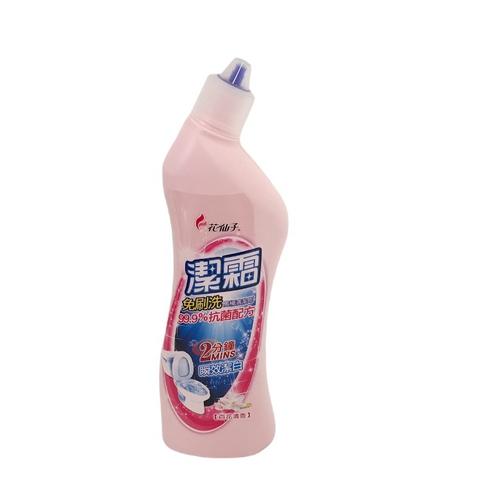 潔霜 免刷洗馬桶清潔劑-百花清香(500ml/瓶)