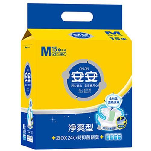安安 成褲淨爽型 M號(14+1片/包)