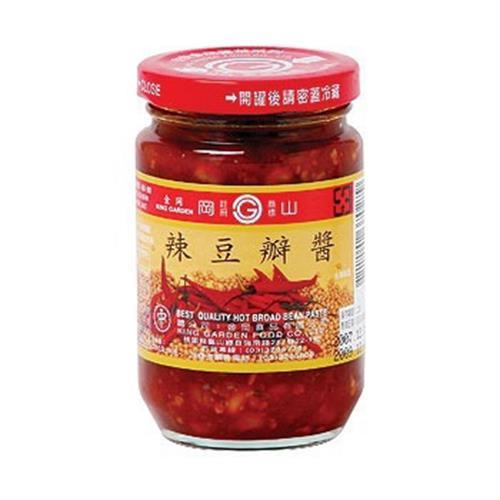 金岡 岡山辣豆瓣醬(135g/瓶)