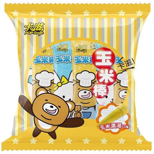 卡滋 玉米棒-玉米濃湯口味(105g(15入)/袋)