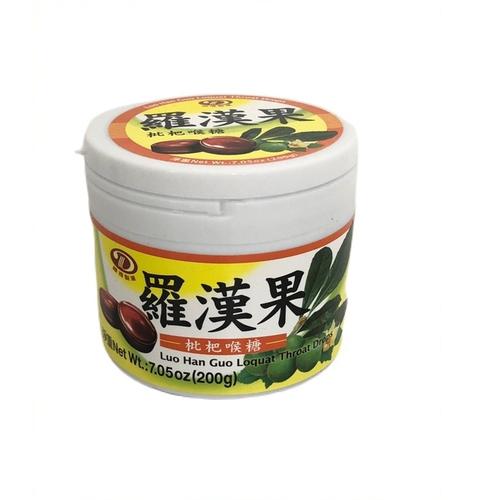綠得 羅漢果枇杷喉糖(200g/罐)