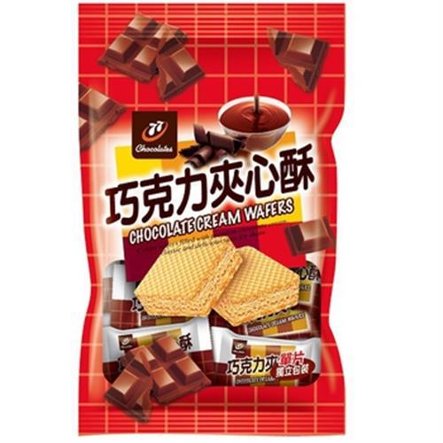 宏亞 77巧克力夾心酥(280g/包)