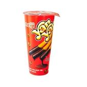 《Meiji》明治巧克力洋洋棒餅乾(50g/杯)