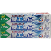 《獅王》潔白超涼牙膏200g*3支/組 $93