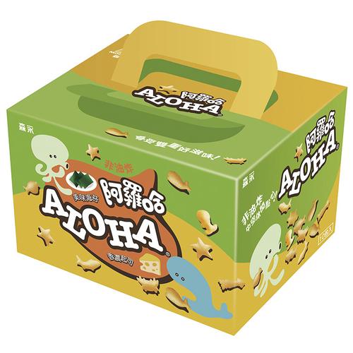 森永 阿羅哈家庭包(海苔+起司)(200g/盒)