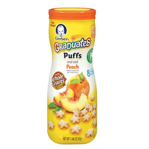 嘉寶 星星餅乾-水蜜桃(42G/罐)