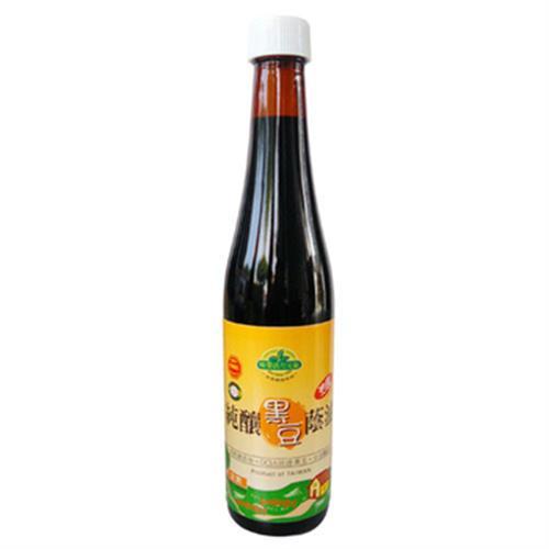 味榮 活力元氣 純釀黑豆蔭油露(450g/瓶)
