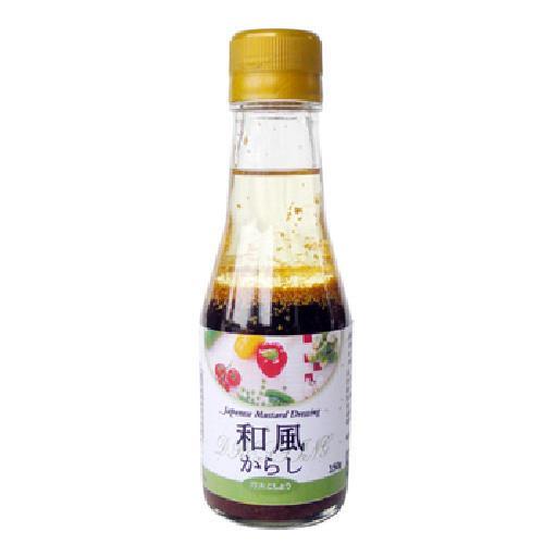 味榮 日式芥茉和風醬(165g/瓶)