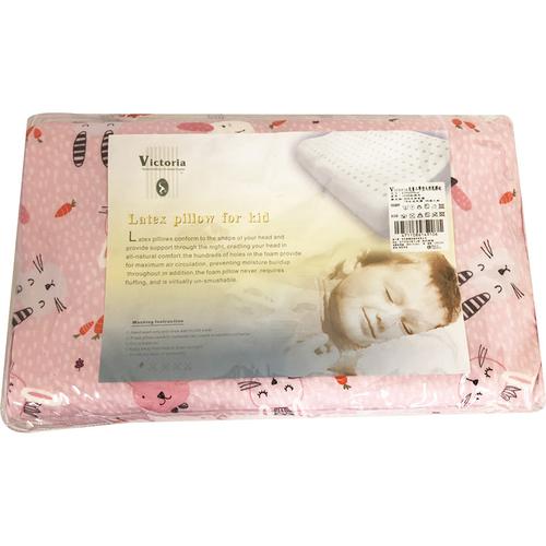 Victoria 兒童工學型天然乳膠枕(27*44*6cm)