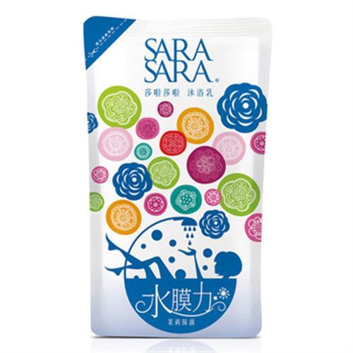 SARA SARA 莎啦莎啦 茉莉保濕沐浴乳-補充包(800g/包)