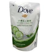 《Dove》多芬清爽水嫩沐浴乳(新)補充包(650m/袋)