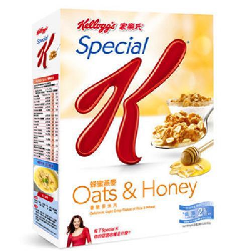 家樂氏 Special K 蜂蜜燕麥(209g/盒)