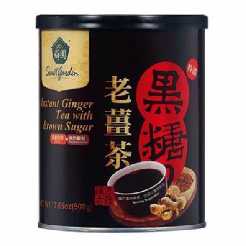 薌園 薌園黑糖老薑茶(500g/罐)